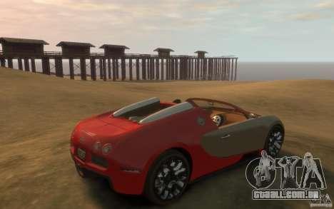 2009 Bugatti Veyron Grand Sport [EPM] para GTA 4 vista direita