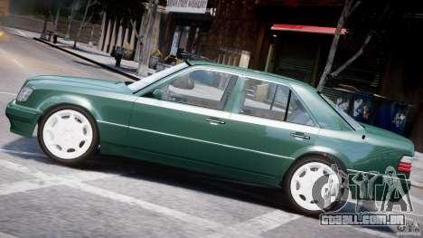Mercedes-Benz W124 E500 1995 para GTA 4 interior