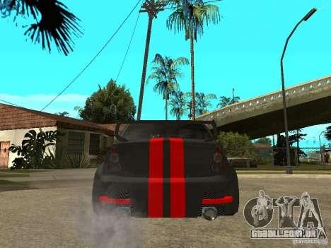 Dacia Logan Tuned para GTA San Andreas traseira esquerda vista