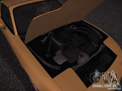 Mazda MX-5 1997 para vista lateral GTA San Andreas