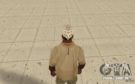 Bandana hellrider para GTA San Andreas terceira tela