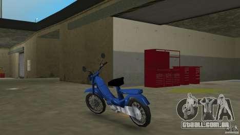 103 SP para GTA Vice City vista traseira esquerda