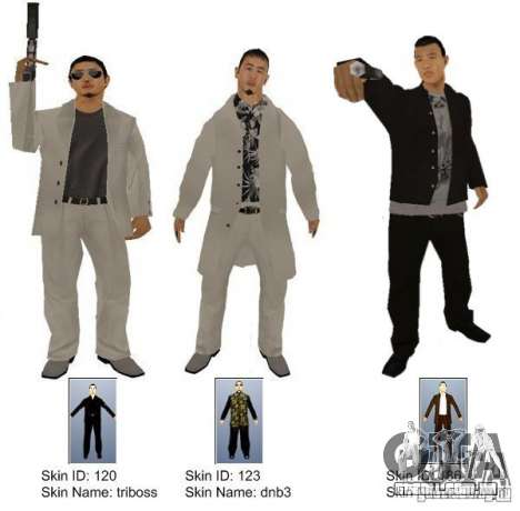 New Yakuza para GTA San Andreas segunda tela