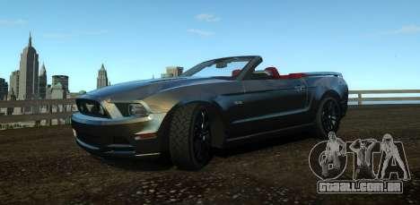 Ford Mustang GT Convertible 2013 para GTA 4
