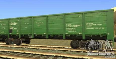 GON 53110664 para GTA San Andreas esquerda vista