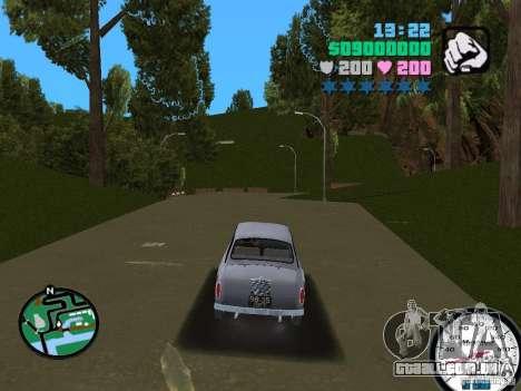 ZAZ 965 para GTA Vice City vista direita