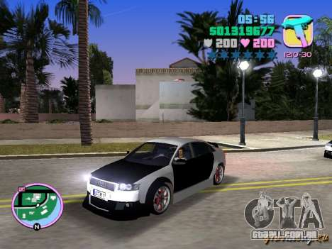 Audi S4 Tuned para GTA Vice City deixou vista