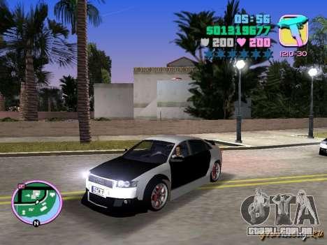 Audi S4 Tuned para GTA Vice City deixou vista