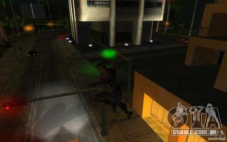 Cyrax de Mortal kombat 9 para GTA San Andreas terceira tela