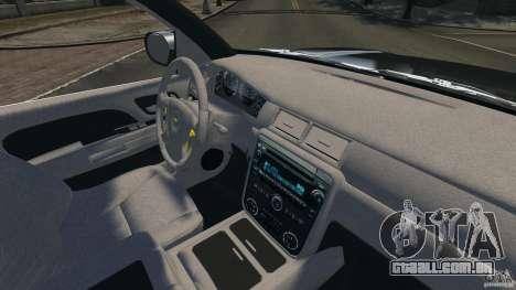 Chevrolet Avalanche Stock [Beta] para GTA 4 vista de volta
