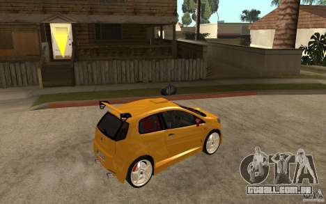 Fiat Grande Punto Tuning para GTA San Andreas