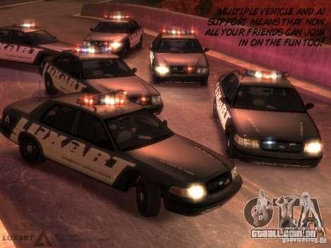 EMERGENCY LIGHTING SYSTEM V6 para GTA 4 sexto tela