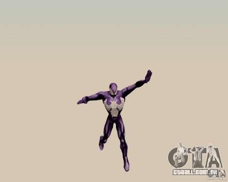 Spider Man para GTA San Andreas terceira tela