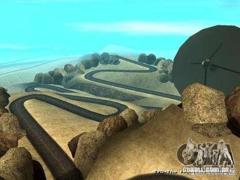 Downhill Drift para GTA San Andreas terceira tela