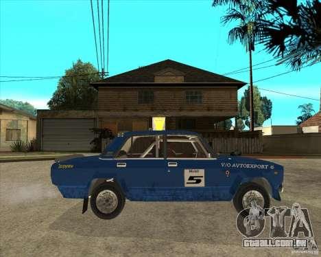 Rali VFTS LADA 2105 para GTA San Andreas