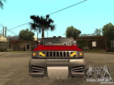 Hummer H2 NFS Unerground 2 para GTA San Andreas
