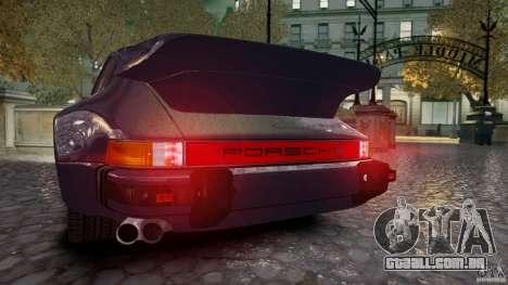 Porsche 911 1987 para GTA 4 traseira esquerda vista