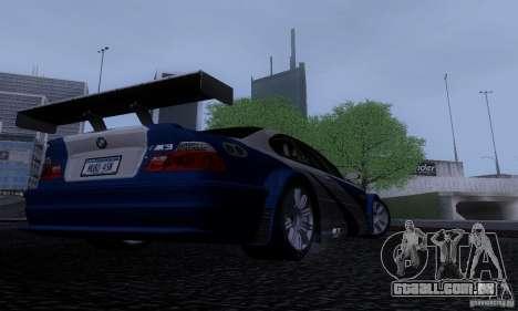 ENB Reflection Bump 2 Low Settings para GTA San Andreas quinto tela