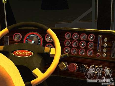 Peterbilt 379 Wrecker para GTA San Andreas vista direita