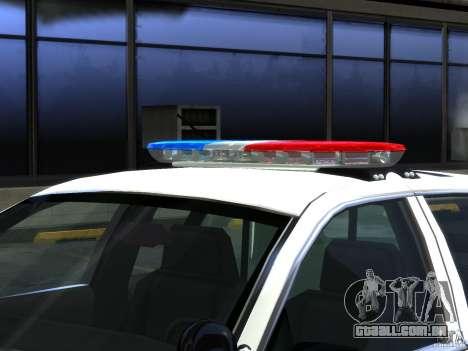 Ford Crown Victoria LAPD [ELS] para GTA 4 vista interior