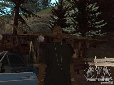 Xzibit para GTA San Andreas segunda tela
