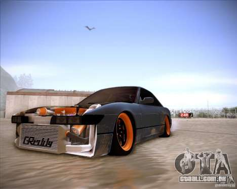 Nissan Silvia S13 Under Construction para GTA San Andreas