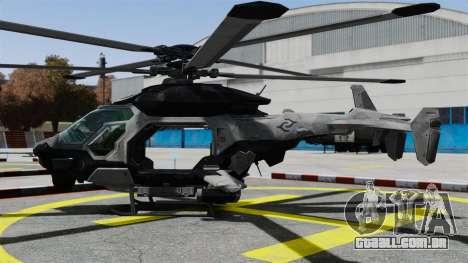 Helicóptero C.E.L.L. para GTA 4 esquerda vista