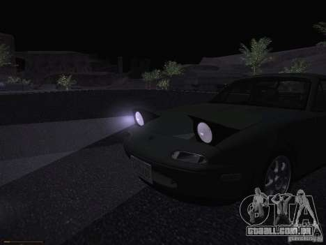 Mazda MX-5 1997 para GTA San Andreas vista superior