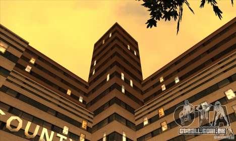O novo hospital em HP para GTA San Andreas segunda tela