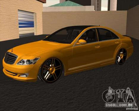 Mercedes Benz S600 Panorama by ALM6RFY para GTA San Andreas