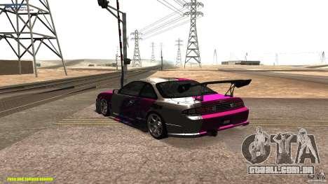 Nissan Silvia S14 kuoki RDS para GTA San Andreas traseira esquerda vista