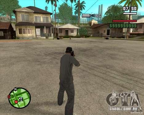 Sinos e assobios para armas para GTA San Andreas por diante tela