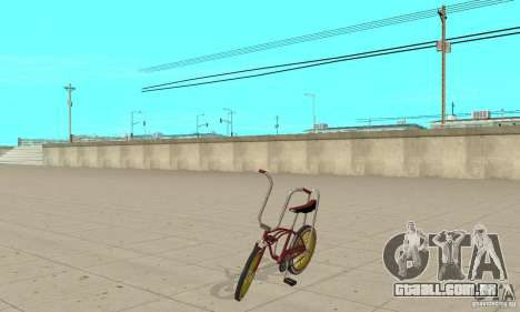 CUSTOM BIKES BIKE para GTA San Andreas