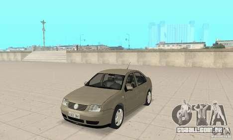 Volkswagen Bora Stock para GTA San Andreas