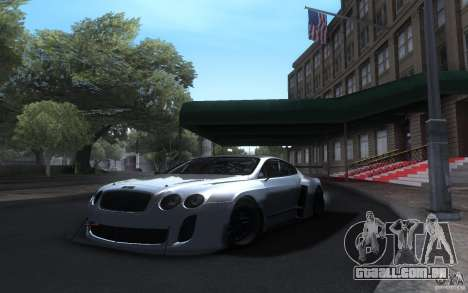 Bentley Continental Super Sport Tuning para GTA San Andreas