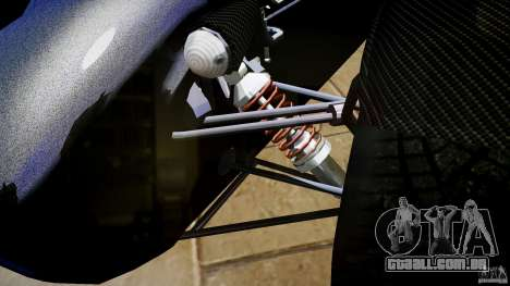Caterham 7 Superlight R500 para GTA 4 vista interior