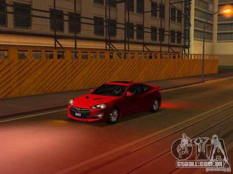 Hyundai Genesis Coupé 3.8 Track v 1.0 para as rodas de GTA San Andreas