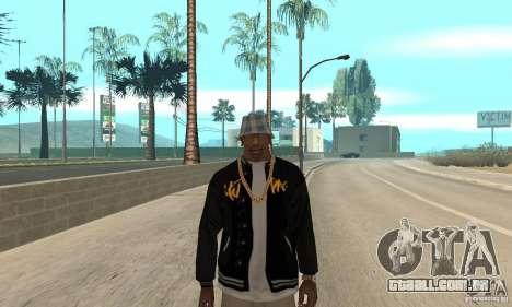 Jacke skin para GTA San Andreas