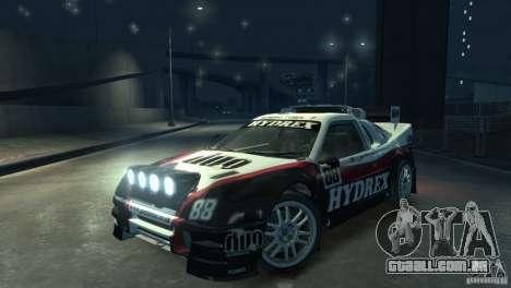Ford RS200 Evolution Rallycross para GTA 4 vista direita