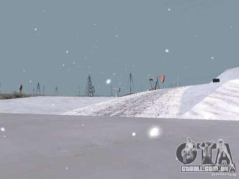 Neve para GTA San Andreas twelth tela