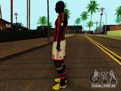 Mario Balotelli v1 para GTA San Andreas terceira tela