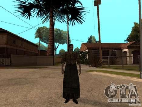 Personagens de Pak atualizadas do Resident Evil  para GTA San Andreas nono tela