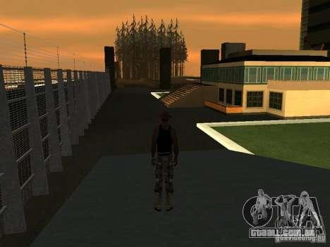 La villa de la noche beta 1 para GTA San Andreas segunda tela