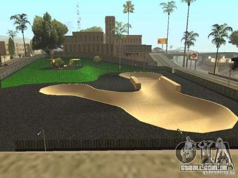 O novo velopark em LS para GTA San Andreas segunda tela