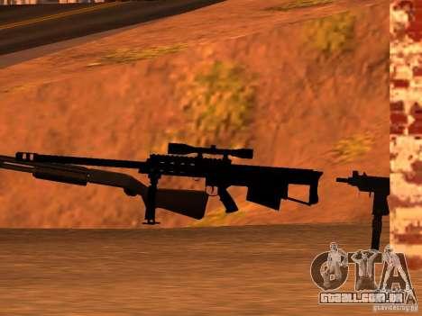 M95 Barrett Sniper para GTA San Andreas terceira tela