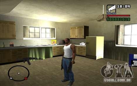 PP-19 Bizon para GTA San Andreas segunda tela