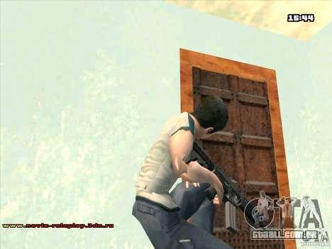 M4 HD para GTA San Andreas terceira tela