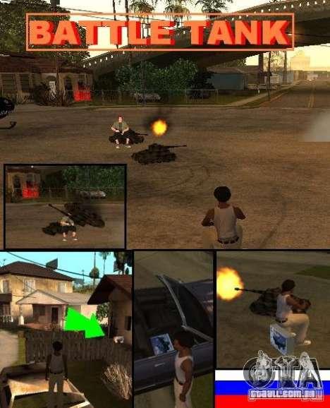 GTA SA SIMS real para GTA San Andreas terceira tela