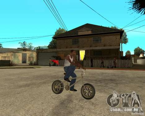WideWheel-BMX 1 LOUIS VUITTON Version para GTA San Andreas vista direita