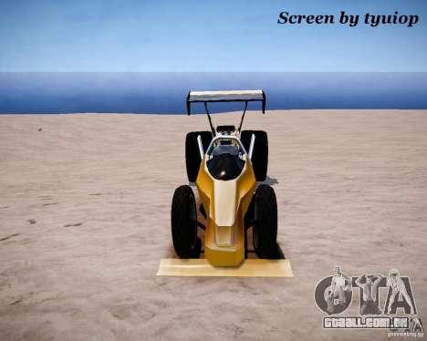 Raketomobil′ para GTA 4 esquerda vista